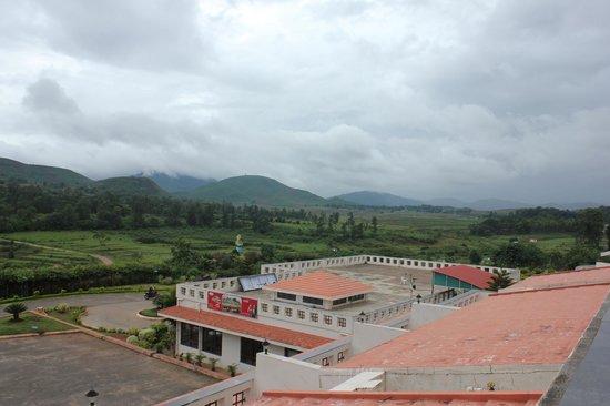 Araku Valley, Indien: Hotel overlooking the Valley