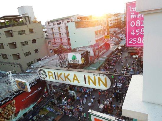 Rikka Inn : rooftop