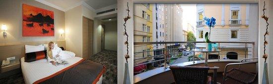 SV Boutique Hotel: corner room