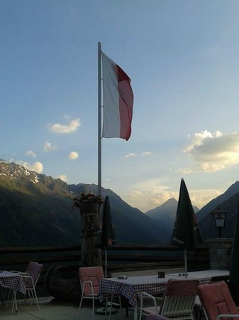 Alpengasthof Gaislachalm: Eveningview
