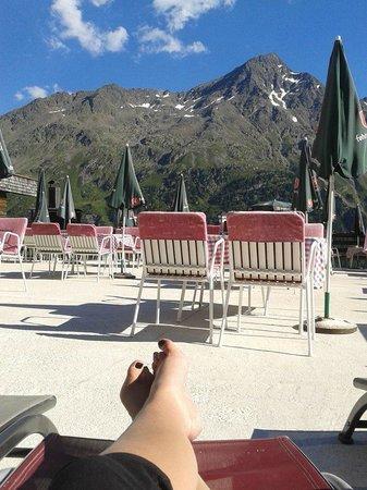 Alpengasthof Gaislachalm: Mountainview