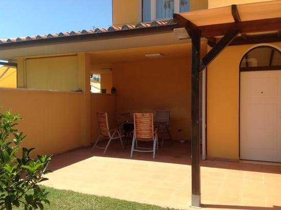 Residence Ombraverde: Il giardinetto dell'appartamento