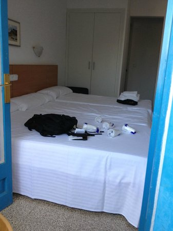 Hotel Bell Repos : chambre triple