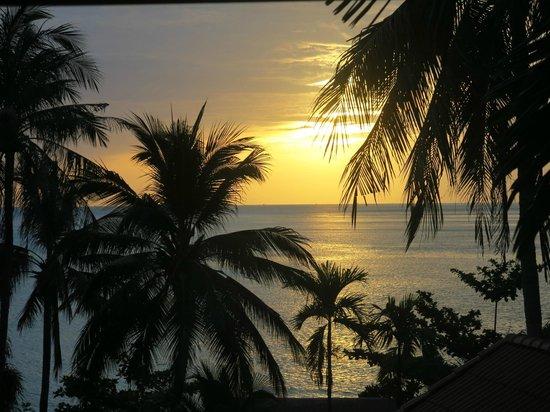 New Star Beach Resort: l'alba dalla camera