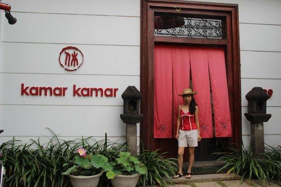 Kamar Kamar Rumah Tamu: Entrance