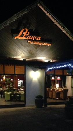 Llawa The Dining Lounge: The entrance of the restaurant.