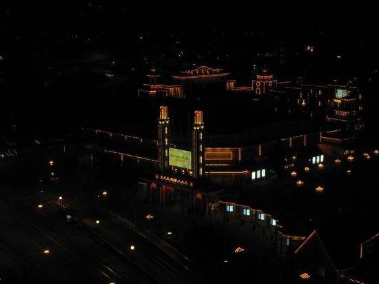 Gothia Towers: Liseberg runt 22.00