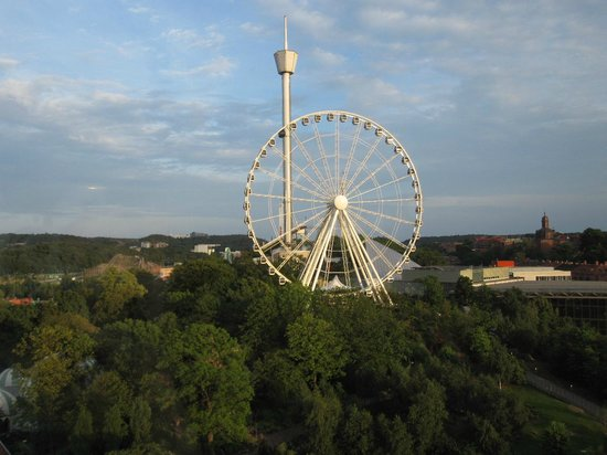 Gothia Towers: Pariserhjulet, utsikt från rummet