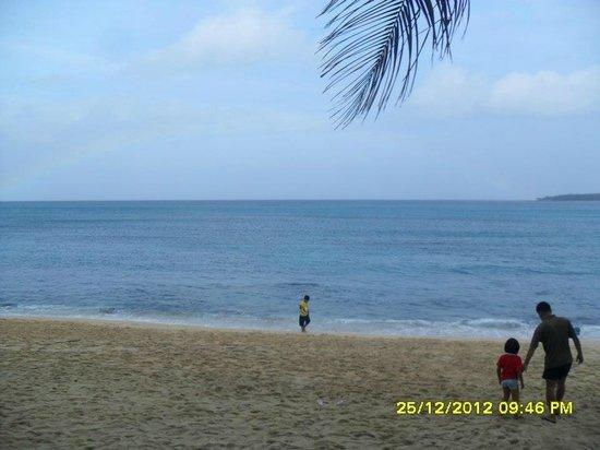 Villa Del Mar Ivory Beach Resort: Too much spiky rocks
