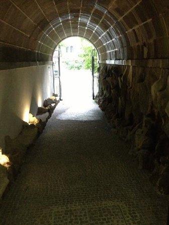 Grande Hotel Bela Vista: path to spa