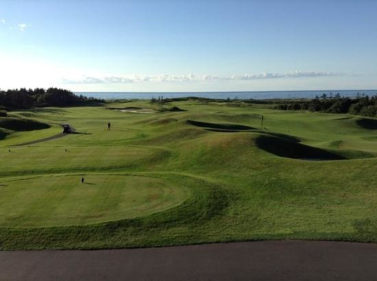The Links at Crowbush Cove: hole 15