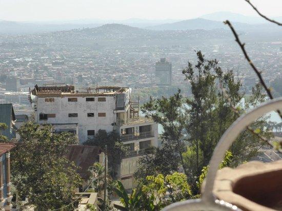 Grill du Rova: Vue sur Tana