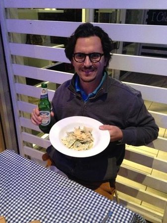Pasta Pronto : my favourite dish Spinach and ricotta ravioli with sage butter