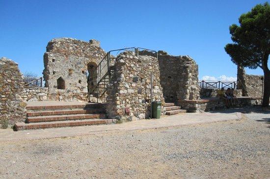 Castelmola, Ιταλία: le mura