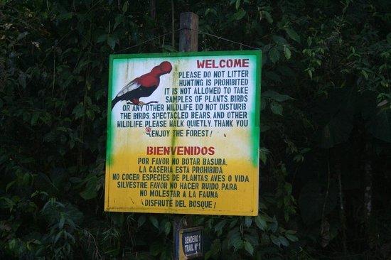 Hacienda San Vicente: Trails