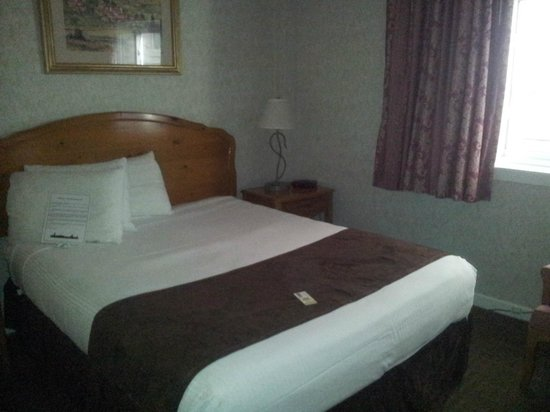 Ohio House Motel: queen bed