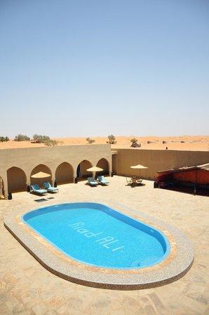 Hotel Riad Ali: Terrace