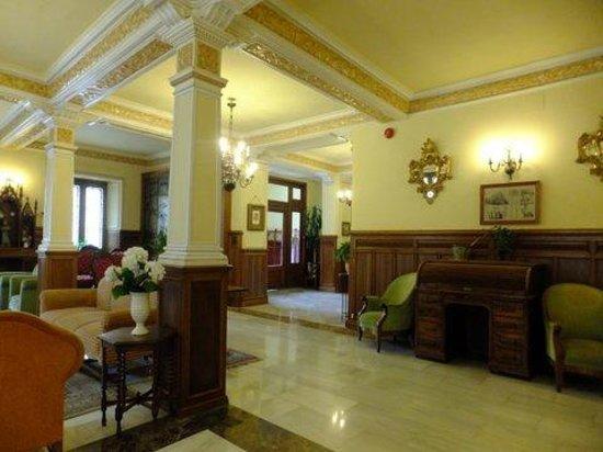 Hotel Norte y Londres: Recepción