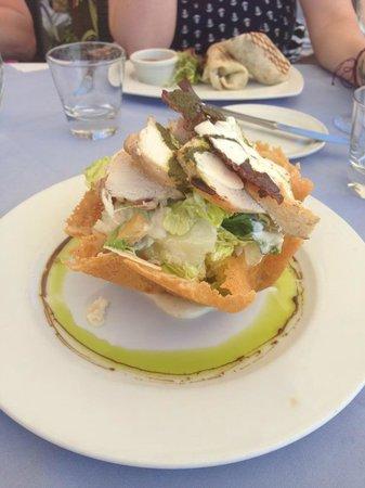 The Beach House Restaurant Marbella: Chicken Caesar Salad