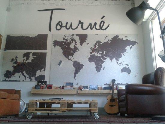 Tourné