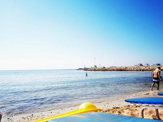 Efi Hotel Apts.: beach thats a short walk from hotel!