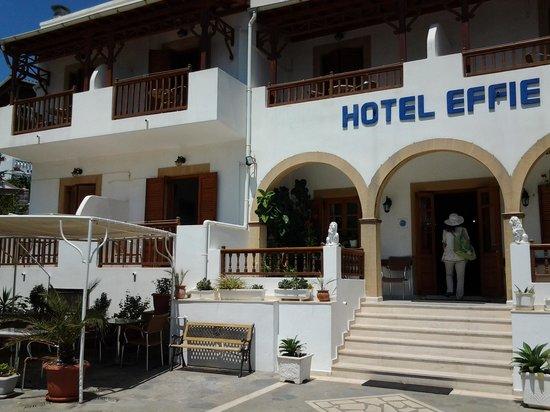Effie Hotel: l entrée