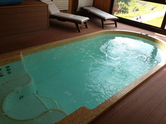 Hotel les Skieurs: spa / spa de nage , génial pour la détente !