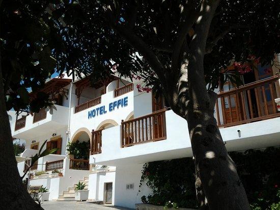 Effie Hotel: calme et ombre