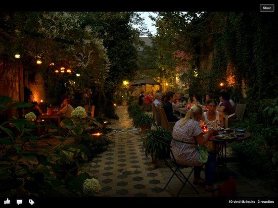 Lier, Belgien: Tuin