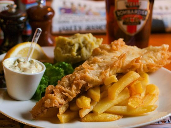 The Bombardier : Fish N Chips
