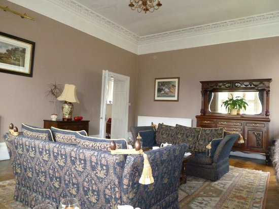 Northcote Manor Country House Hotel: Lounge in hotel