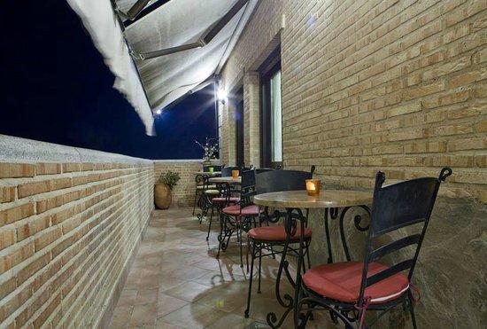 Hotel Medina de Toledo : Terraza
