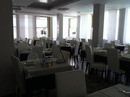Hotel Ermeti: La sala pranzo