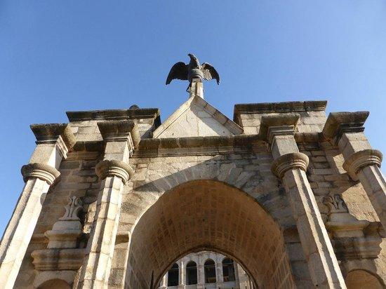 Rova - Le Palais de la Reine : L'aigle royal