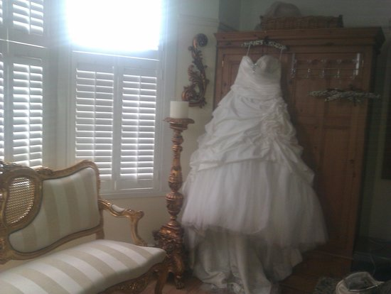 Olivia House: perfect for a wedding night
