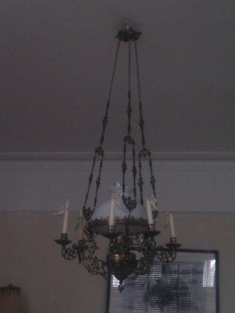 Olivia House: candelabra