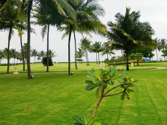 Taj Exotica Goa : Pathway to the beach