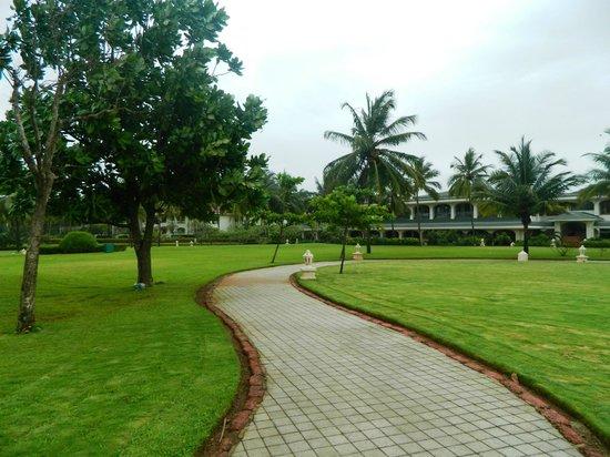 Taj Exotica Goa : The lawn