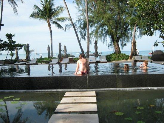 SALA Samui Choengmon Beach Resort: Black infinity pool
