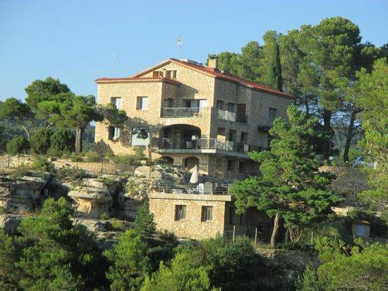 Mirador de Siurana Hotel: view of the hotel
