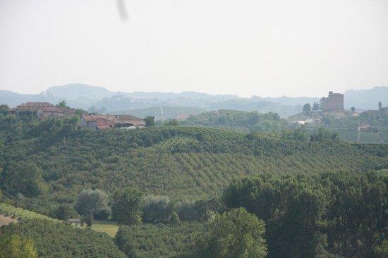 Alla Cascina Baresane : Vue depuis la terrasse