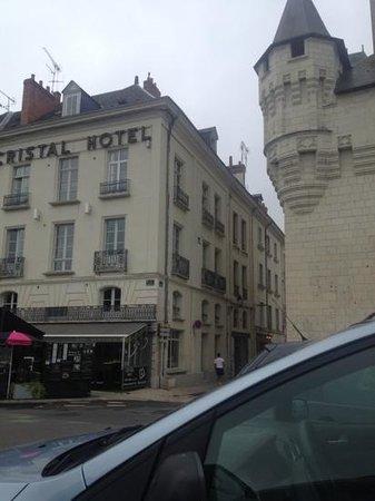 Cristal Hôtel : façade de l'hôtel