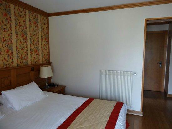 Au Vieux Moulin : chambre rénovée récemment mais, pour moi, pas de cachet