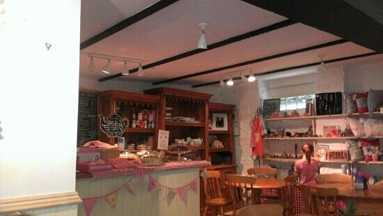 Hele Corn Mill and Tea Room: beautiful cafe