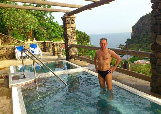 Hotel Terme San Lorenzo: Бассейны с морской водой