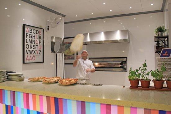Pizzeria Martha's : Pizzero