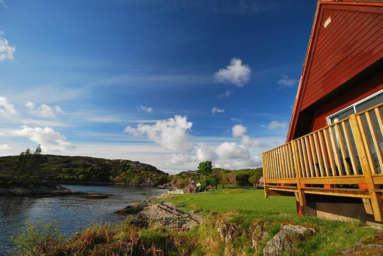Lochinver Holiday Lodges: Strathan Bay