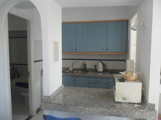 Plaza Azul: Kitchen area