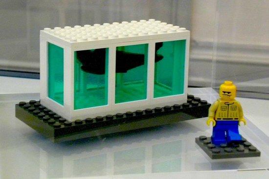 Walker Art Gallery: Lego version of Damien Hirst's Shark Tank, by The Little Artists (John Cake and Darren Neave)