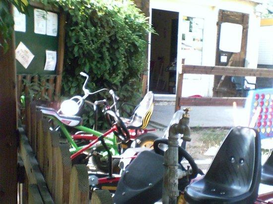 Camping de la Trye: karting payant